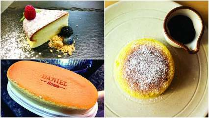 Let them eat Japanese soufflé cheesecake