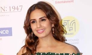Huma Qureshi's green dress will give you polka-dotted nightmares