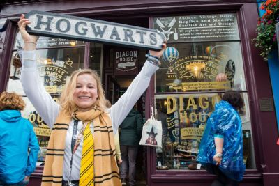 Edinburgh has its very own Harry Potter shop