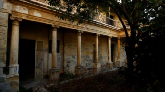 A tour of crumbling Malta villa where Queen Elizabeth lived in her 20s
