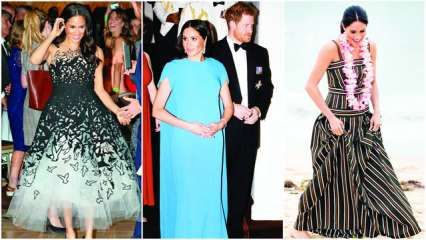 Meghan Markle aces her maternity style
