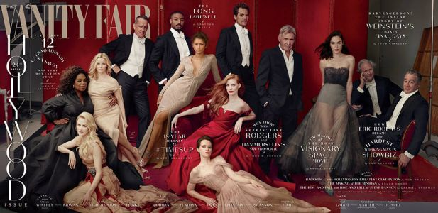 Can You Spot The 5 Photoshop Quirks On The Cover Of Vanity Fair's Hollywood Issue?