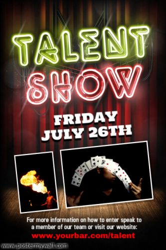 30 Luxury Talent Show Program Template Pics