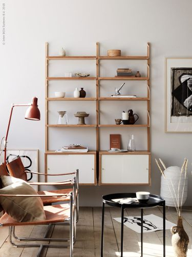 A STYLISH & VERSATILE SHELVING SYSTEM