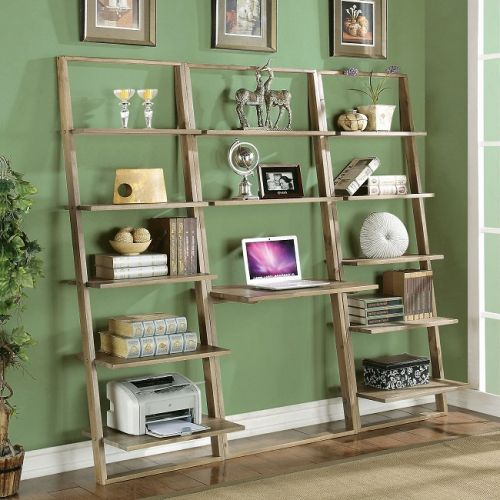 30 Beautiful Ladder Bookcase with Desk Pics