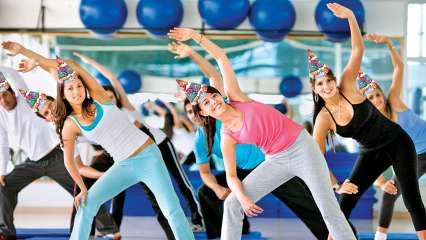 Birthday Boot Camp: Milennials abroad are ditching the heels and booze to hit the gym with buddies