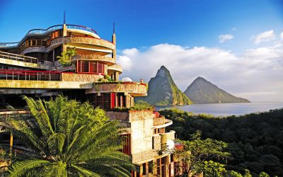 Luxury at its sweetest: having a chocolate massage at St. Lucia's most exclusive resort