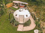 UFO-style glamping pod Spodnic in Pembrokeshire is so realistic helicopters have circled overhead