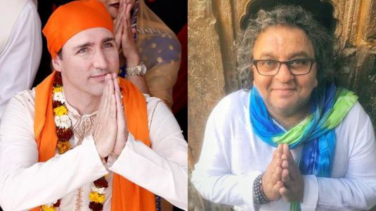 Mr Trudeau, you really didn't have to fly down an Indian chef from Canada