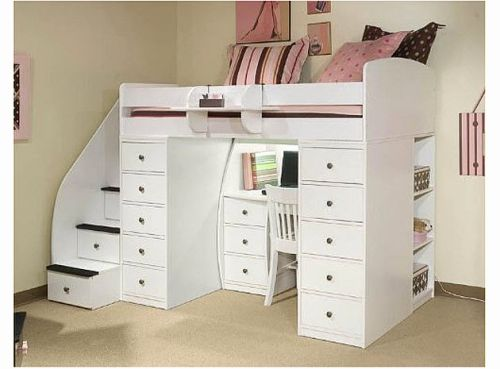 19 Luxury Childrens Loft Bed with Desk Pictures