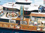 New £79.5m yacht for the super wealthy comes with a sub and two helicopters
