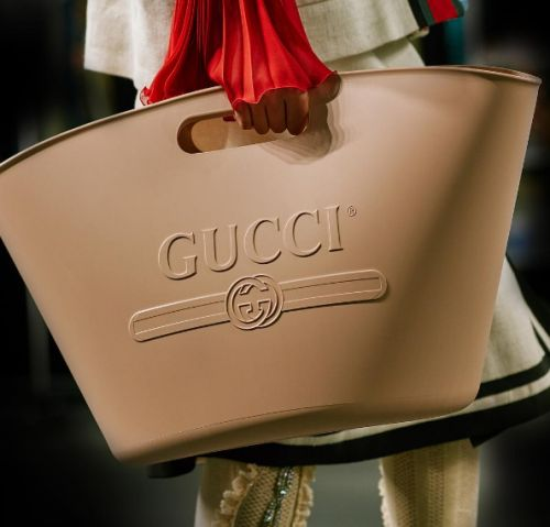 People are taking the piss out of these £700 rubber Gucci bags