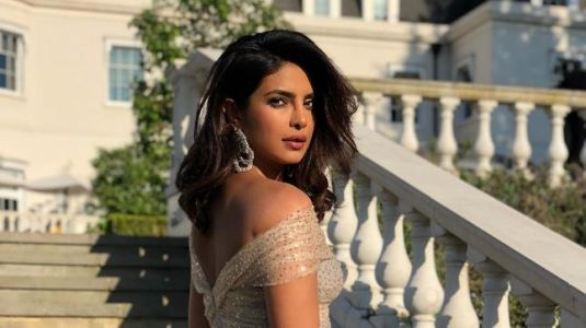 Priyanka Chopra was a princess in gold at the Royal reception