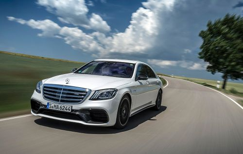 The 2018 Mercedes-AMG S63 is a 603HP Land Rocket With Massaging Seats