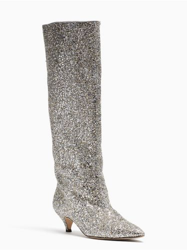 Tyler Literally Cannot Have Enough Pairs of Glitter Boots