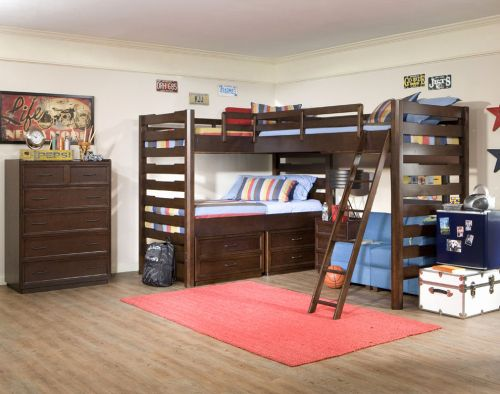 29 Lovely Teenage Bunk Beds with Desk Graphics