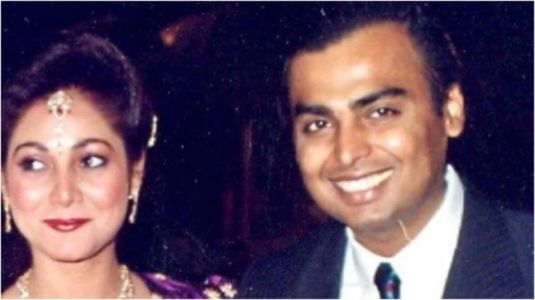 Tina Ambani shares rare pics in heartwarming post for Mukesh Ambani on his birthday