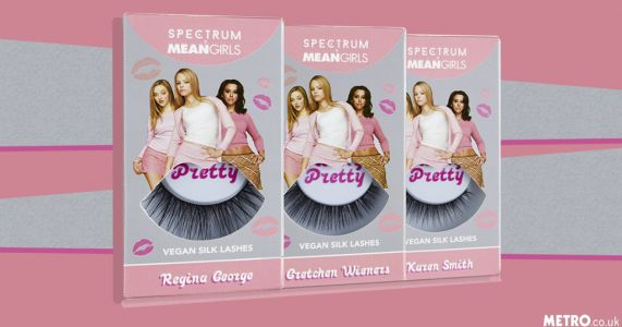 You can now buy Mean Girls inspired false eyelashes and they're so f