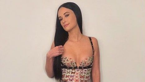 Kacey Musgraves's Archival Versace Butterfly Dress Is Vintage Heaven