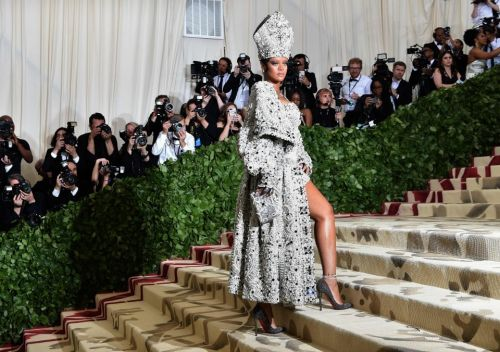 At the Met Gala red carpet, the point is no longer looking good. The point is to win