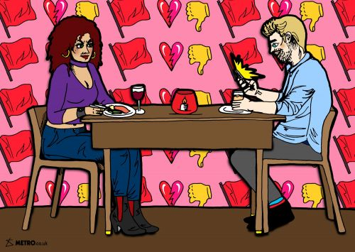 What's the right way to get out of a bad date?