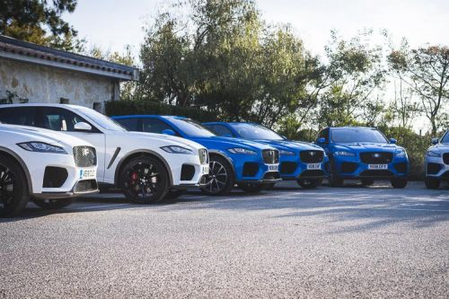 The Big Cats in St Tropez - Jaguar XE & F-Pace SVR Launch