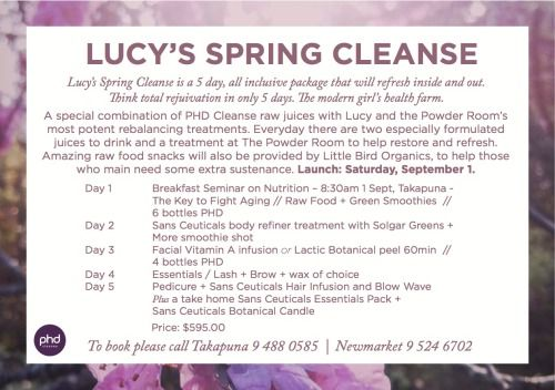 Spring Cleanse
