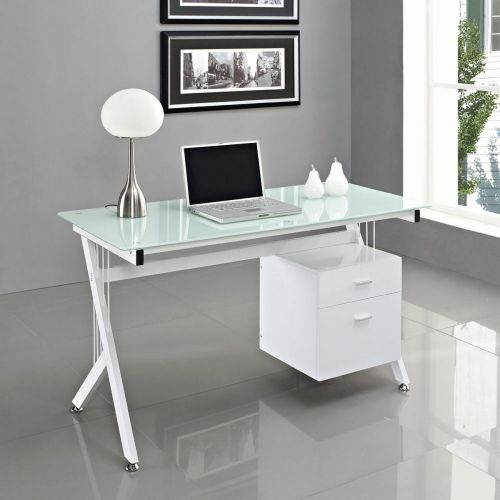 19 New Glass Home Office Desk Pics