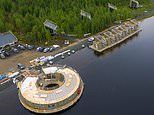 Bookings open for Sweden's floating Arctic Bath hotel and spa