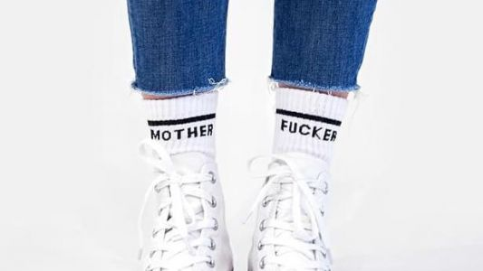 Maria Needs 2 Pairs of These NSFW Socks