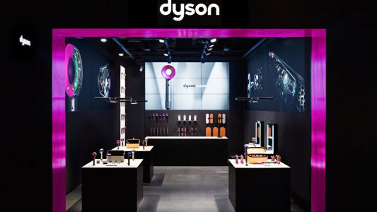 Dyson opens its world's first Beauty Lab in Funan Mall