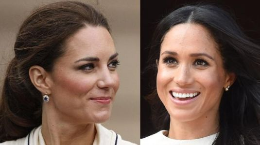 Queen Elizabeth gifted Meghan diamond earrings. But have you seen Kate's gifts?