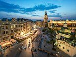 Krakow overtakes Amsterdam to become Brits' favourite city break