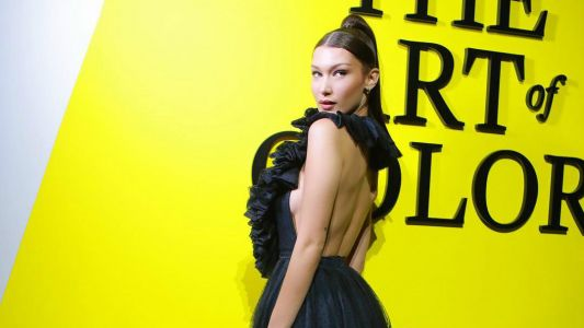 Bella Hadid's Backless Dior Gown Will Make You Yearn for Halter Tops