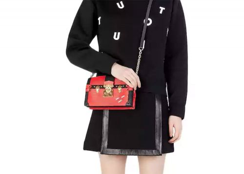 The New Louis Vuitton Trunk Clutch Tries to Make a Popular Clutch a Little More Wearable