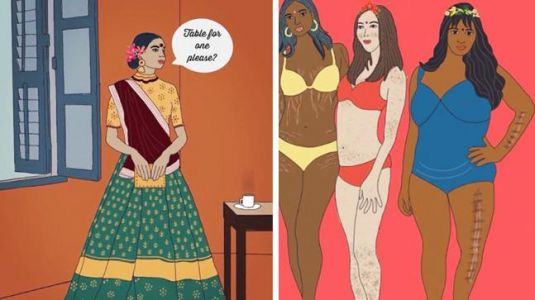 This Indian woman is challenging 'dirty taboos' through her art