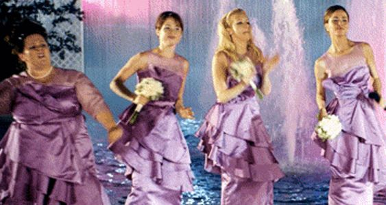 Fashion People Have Disastrous Bridesmaid Experiences, Too