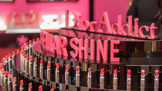 Dior launches the Addict Stellar Shine with an all-pink pop-up at ION Orchard