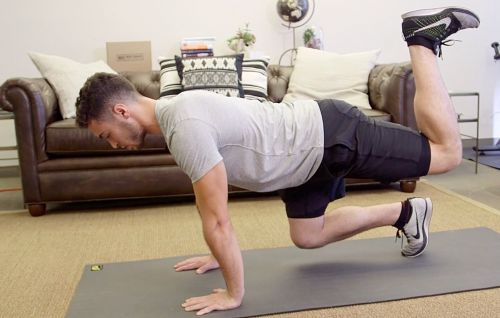 Tighten Your Core With This Kickback Move