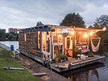 Man builds a houseboat and sails it from Hamburg to Paris