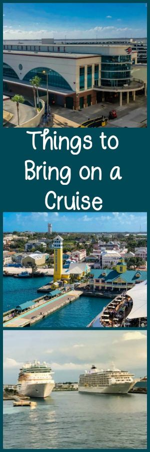 Things to Bring on a Cruise