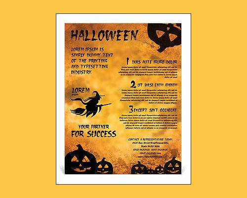 30 Fresh Halloween Flyer Template Free Images