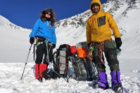 Duo to attempt first-ever winter ascent of Yukon's Mount Lucania