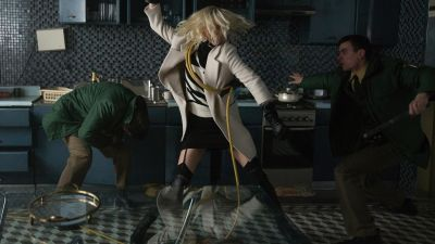 Charlize Theron Kicks Ass in 'Atomic Blonde' While Wearing Dior, Saint Laurent and Burberry