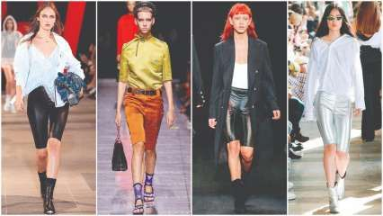 STYLE HUNTER: The new 'it' piece - Cycling shorts