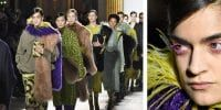Fashion magic in Paris: These colors should look hideous together. Somehow, they're exquisite