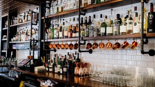 Build your own home bar the easy way with these six tips