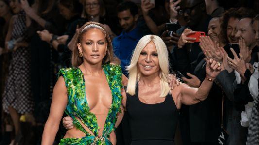 Versace Remixes Jennifer Lopez's Iconic 'Jungle Dress' Print for Spring 2020