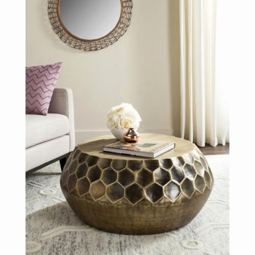 18 Luxury Round Brass Coffee Table Pics