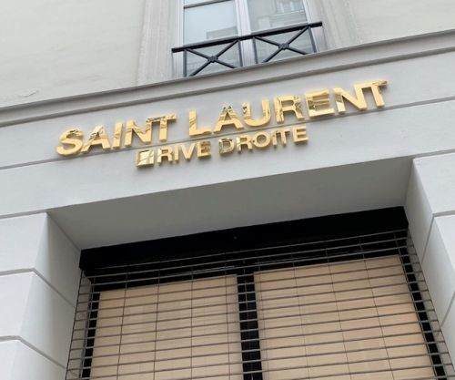Saint Laurent Rive Droite Merch Are In Stores At MBS